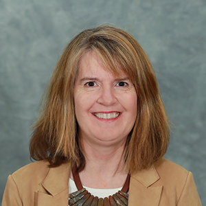 Portrait of Associate Dean Kelly Hupfeld