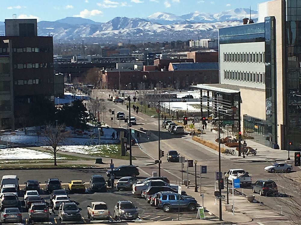 Alex Sterling, Envisioning the Future for the Auraria Campus