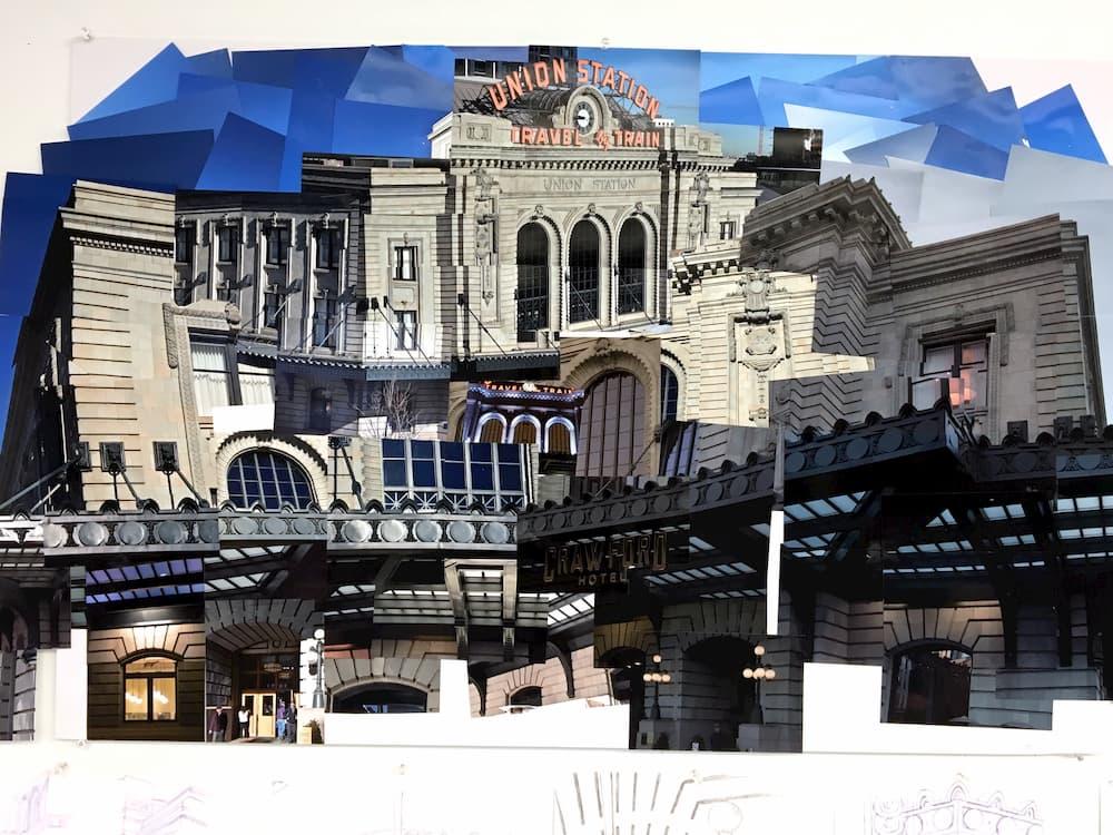 MLA student Tatum Moorer reimagines Union Station through photocollage