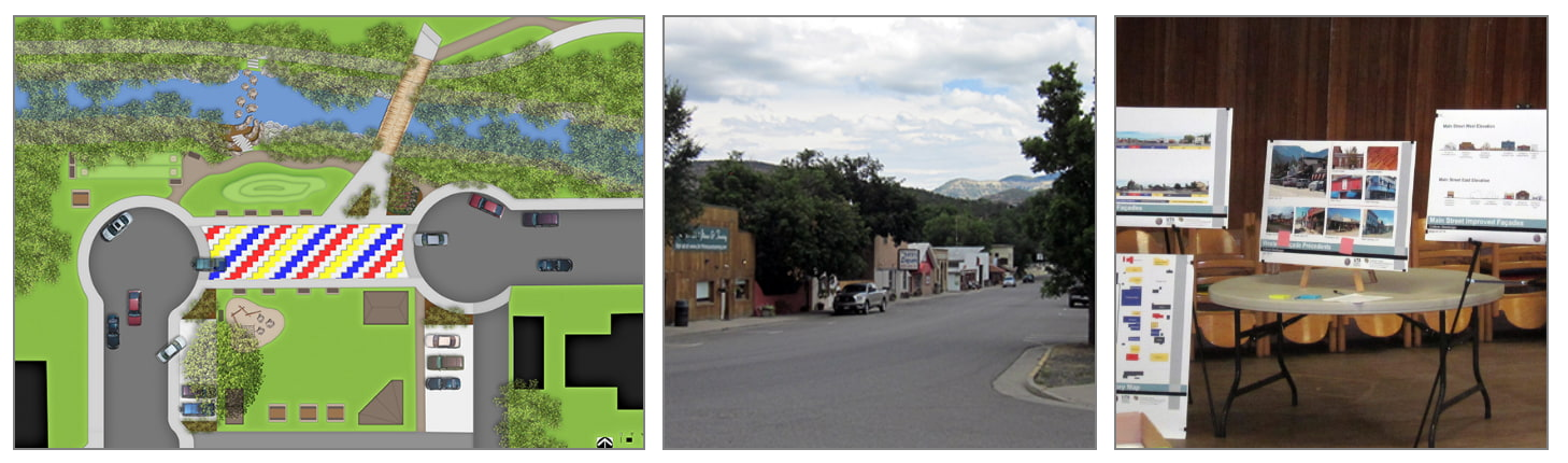 Collbran Main Street Streetscape and Facade Concepts