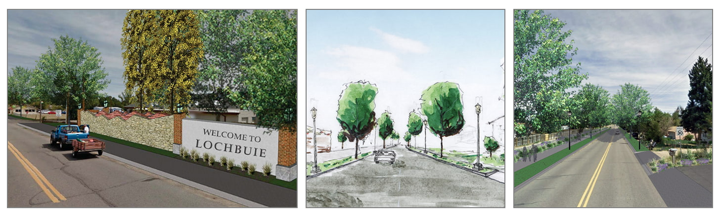 Lochbuie Streetscape and Entry Signage Plan