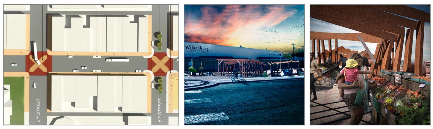 Walsenburg Pocket Park and Streetscape Renovation Plan