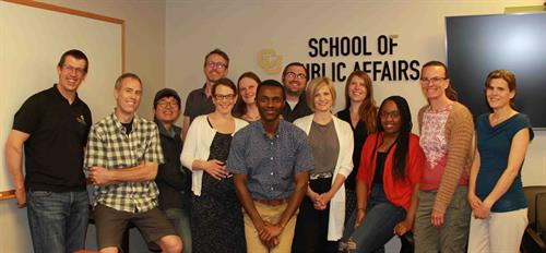 Participants from the IPPA Policy School at CU Denver School of Public Affairs