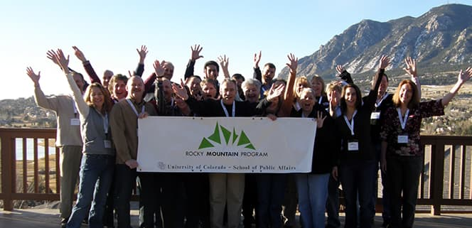 Group photo of the 2008 participants